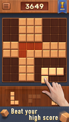 Block of Wood - Classic Puzzle Game apkpoly screenshots 3