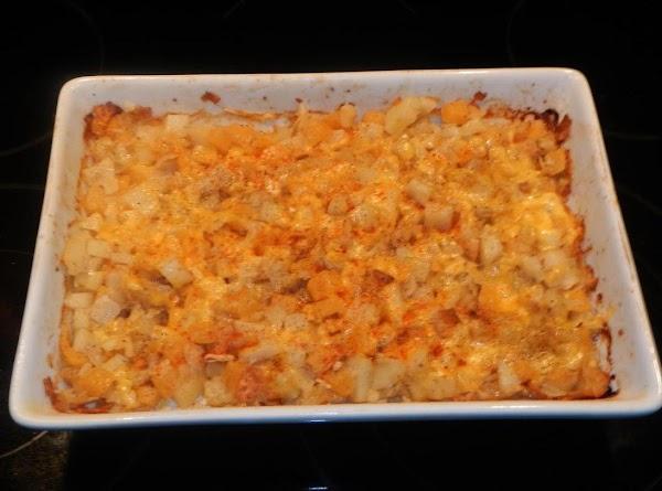 Potato,rutabaga,potato Chip,& Cheese Bake. Recipe