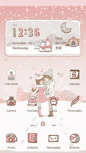 A Warm Winter Hola Theme