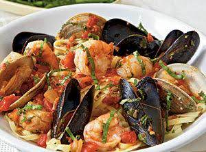 Seafood Arrabbiata Recipe