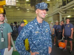 Photo: Ridiculously photogenic Navy guys. Everywhere.