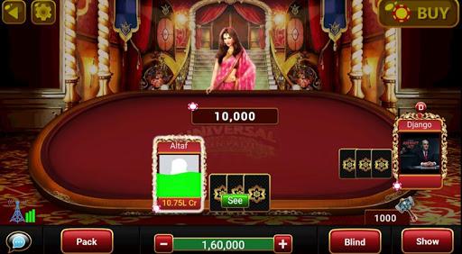 Universal Teen Patti - Indian Poker Game  captures d'u00e9cran 8