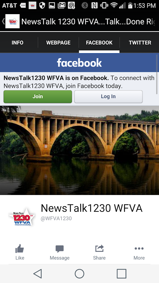 NewsTalk 1230 WFVA- screenshot
