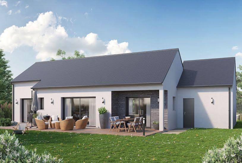Vente Terrain + Maison - Terrain : 600m² - Maison : 110m² à Sonzay (37360)