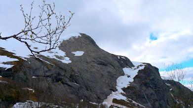 Photo: Nordre kringla og skaret ned frå Søndre Kringla