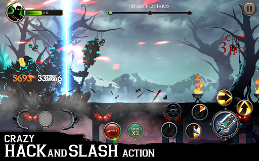 Stickman Shadow Legends - 2D Action RPG  captures d'écran 5