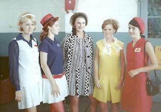 Photo: '69 Open House visitors in VT 24 Hanger