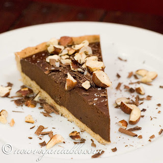Chocolate Chestnut Tart