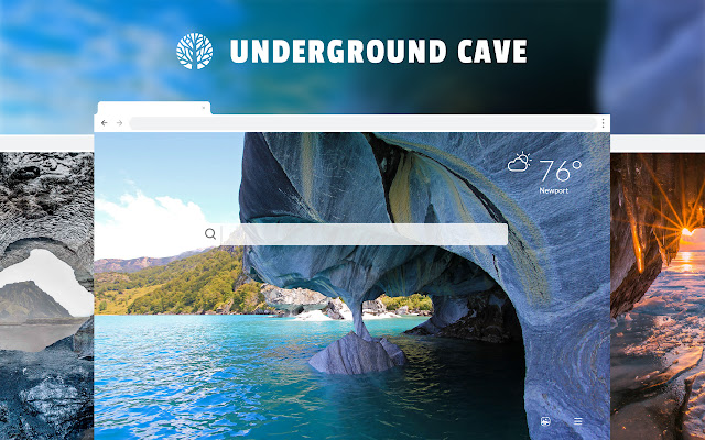 Underground Caves HD Wallpapers New Tab