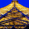 Eiffel Tower at Night LWP icon