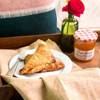 Breakfast in Bed Apricot Turnovers with Bonne Maman Recipe