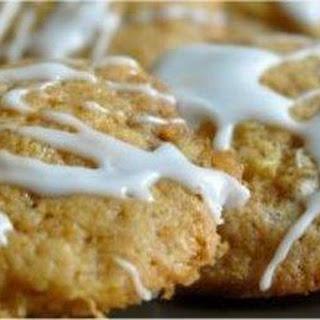 Soft Iced Pineapple Cookies.
