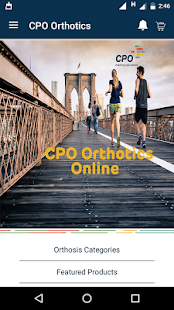 CPO Orthotics- screenshot thumbnail