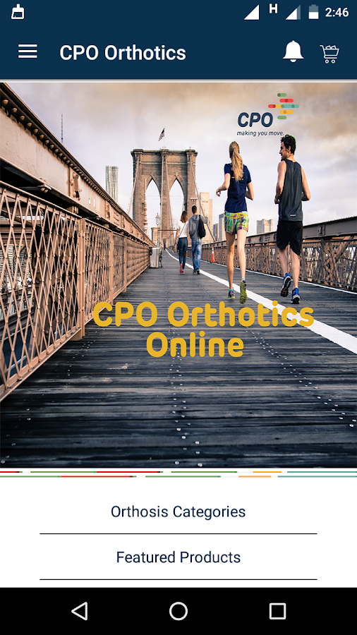 CPO Orthotics- screenshot