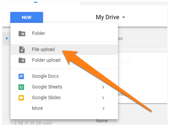 Google Will Convert The File And You Can Open It In Sheets For XLS Files Or Docs Doc