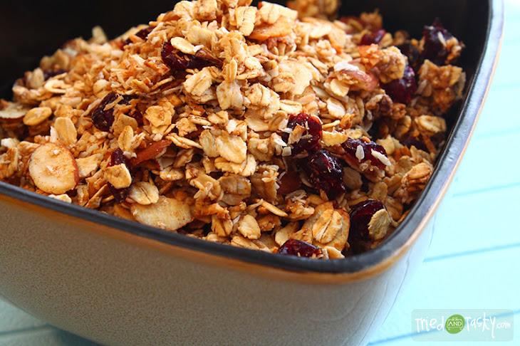 Coconut Almond Granola Recipe | Yummly