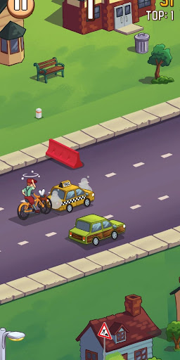 PaperBoy Rush! android2mod screenshots 3