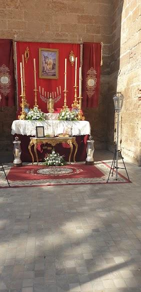 Altar del Rosario del Mar.