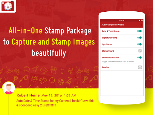 Auto Stamper: Stamp your Photo v2.8.1 [Pro]