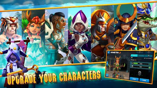 Wartide Heroes of Atlantis MOD (Unlimited Energy/Unsuccessful Skills) 4