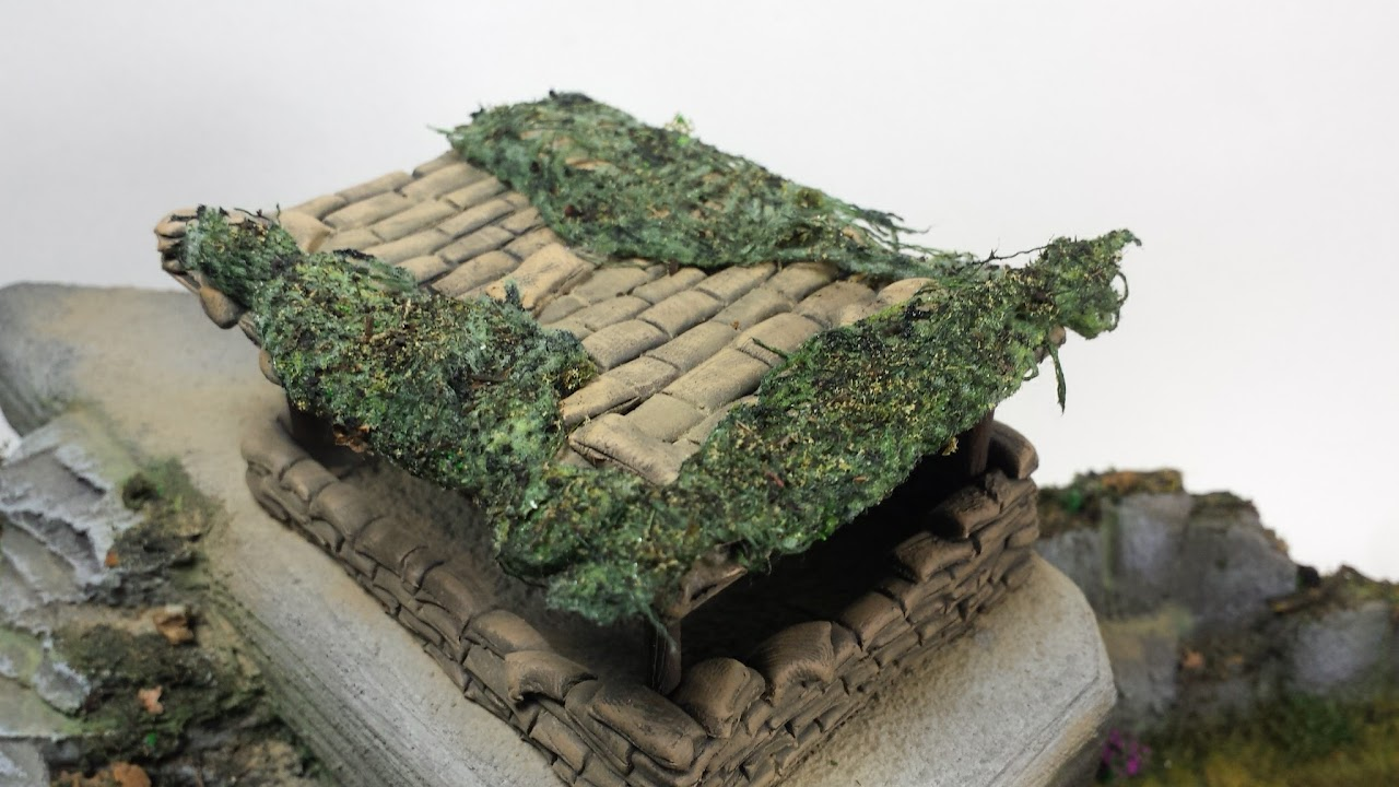 Scratchbuilt 1/72 Hürtgen Forest Bunker Diorama - RichBuilds com