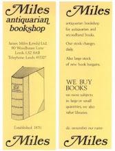 Photo: Miles Antiquarian Bookshop