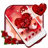 Wine Red Rose Theme