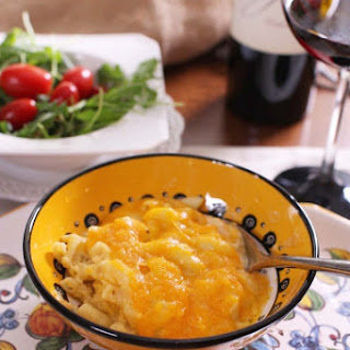 Slow Cooker 3 Cheese Macaroni And Cheese