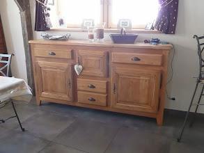 Photo: Appartement 1 - Le bahut à vaisselle de la salle à manger