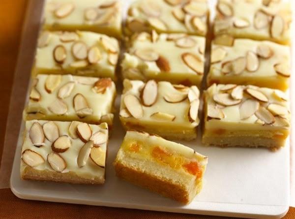 Nutty Apricot & White Chocolate So Decadencce Bars Recipe