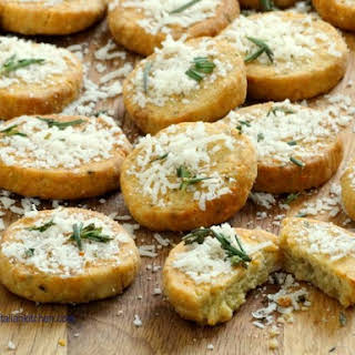 Rosemary Parmesan Biscuits.