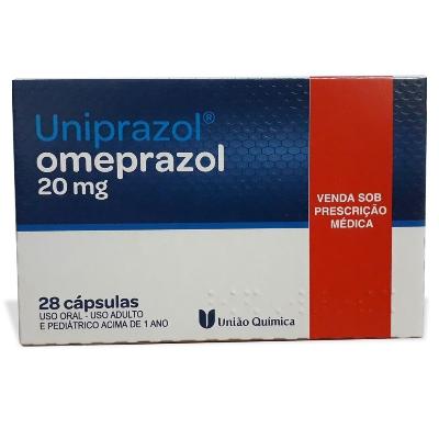 omeprazol uniprazol 20mg 28cápsulas unida quimica
