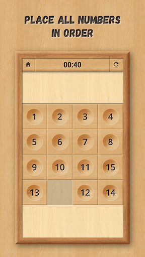 Sliding Puzzle: Wooden Classics 1.0.5 screenshots 2