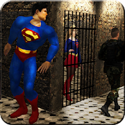 Superboy Prison Story : super girl Rescue