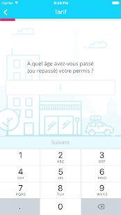 wilov - l'assurance auto Pay When You Drive Capture d'écran