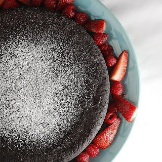 Chocolate Lentil Cake