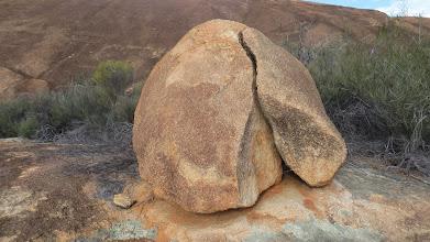 Photo: A marble at Mt Mc Dermid