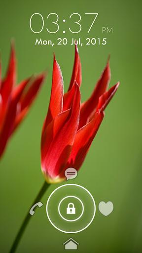 Flower Lock Screen