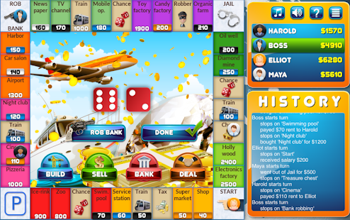 CrazyPoly - Business Dice Game Screenshot