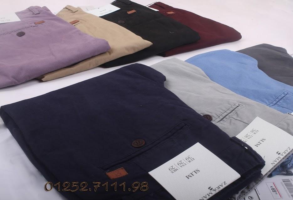 chuyên bán buôn bán lẻ các loại quần VNXK Kaki chất vải đẹp mịn