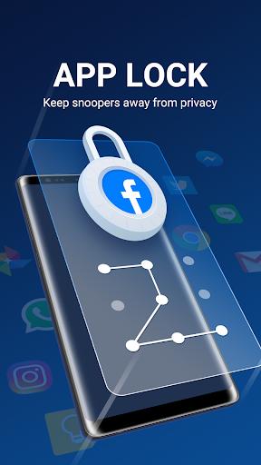 Ryazan, russia july 03, 2018: max applock privacy guard.