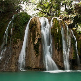 Daranak Falls by Jon Gonzales - Landscapes Waterscapes ( falls, daranak )