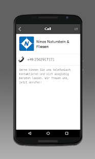 Ninos Naturstein & Fliesen- screenshot thumbnail