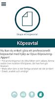 Screenshot of Opus Bilprovning