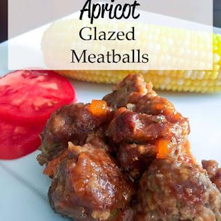 Apricot Glazed Meatballs