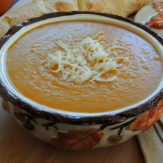 Slow Cooker Butternut Squash & Apple Soup