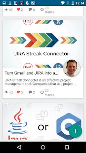 Social App - náhled