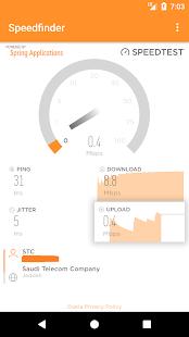 Speedfinder - Internet (WiFi/Mobile data) - náhled