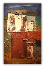 Photo: Antonio Berni Dos casas 1959. 130 × 81 cm. Óleo sobre tela. Colección particular, Buenos Aires. Expo: Antonio Berni. Juanito y Ramona (MALBA 2014-2015)