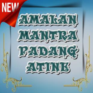 AMALAN MANTRA PADANG ATINE - náhled